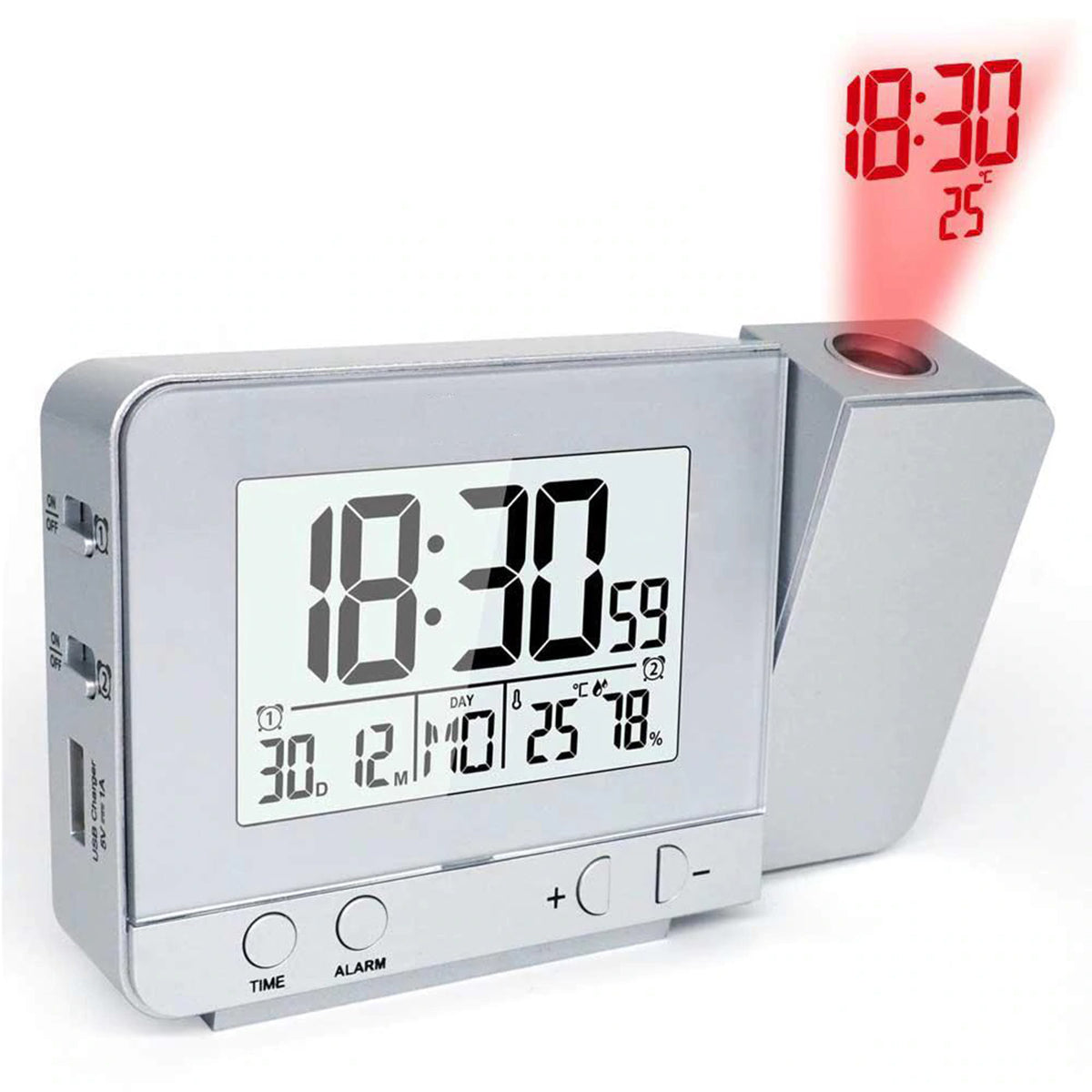 Home Decor Projection Alarm Clock