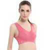 Comfortable Sleep Sports Bra with Breathable Mesh
