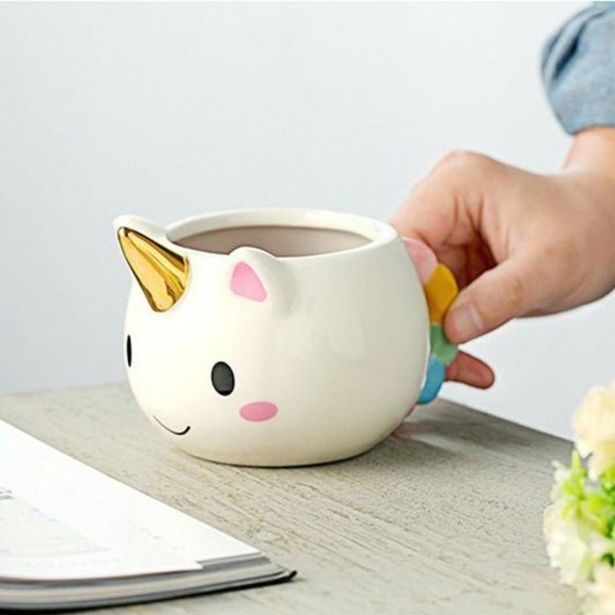 Transhome Ceramic Unicorn Mug