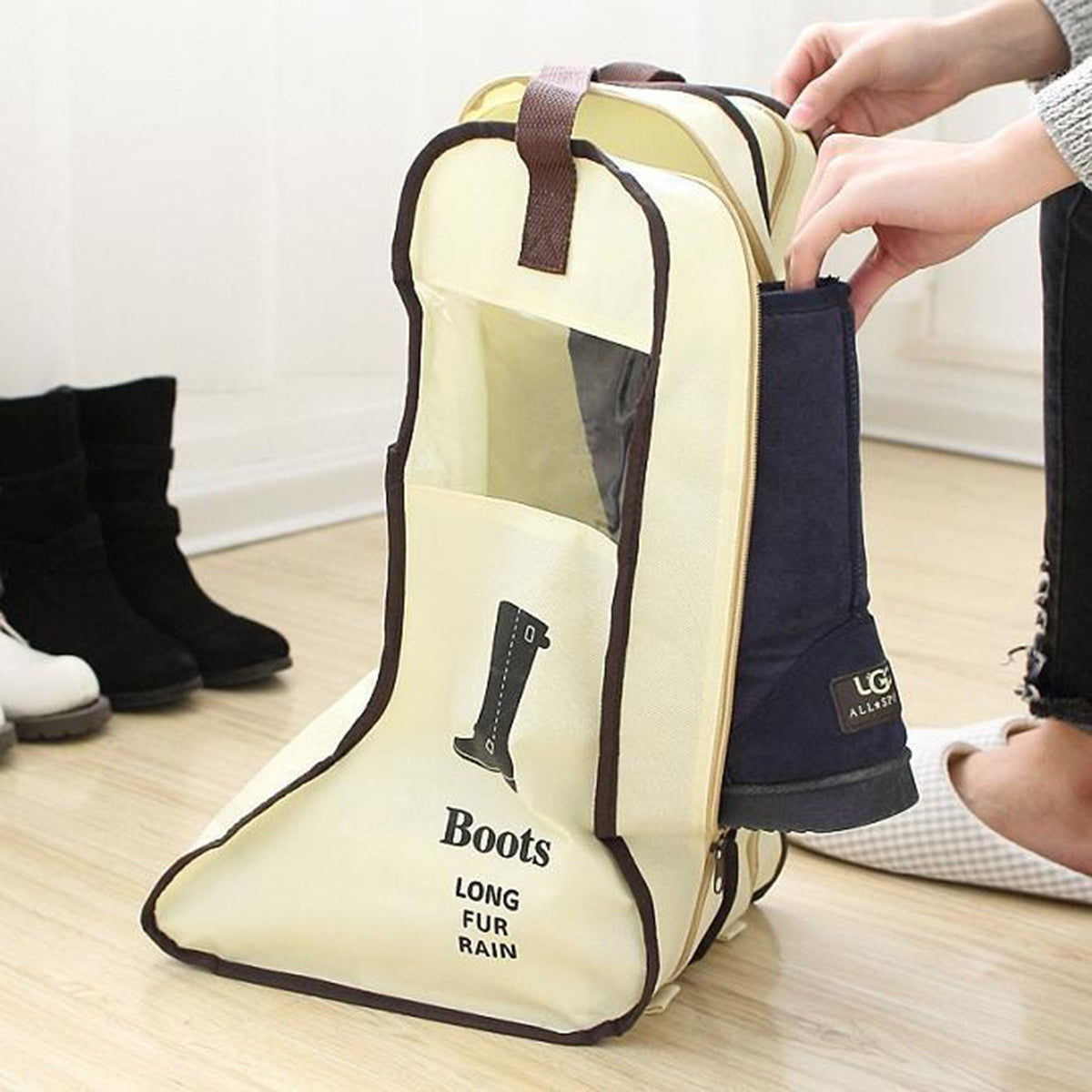 Waterproof Travel Boot Bag Organiser