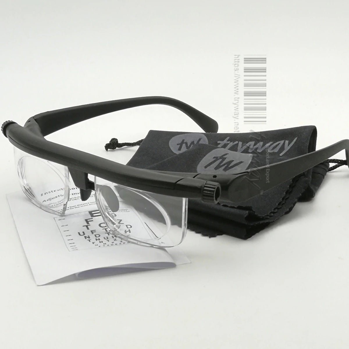 Variable Focus Distance Adjustable Vision Glasses