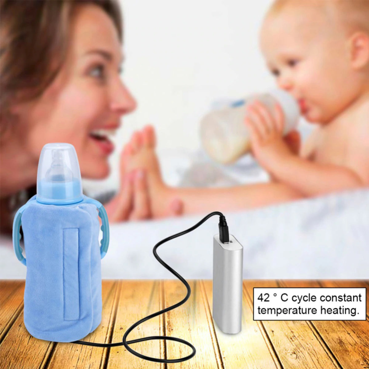 Portable Travel Baby Bottle Warmer