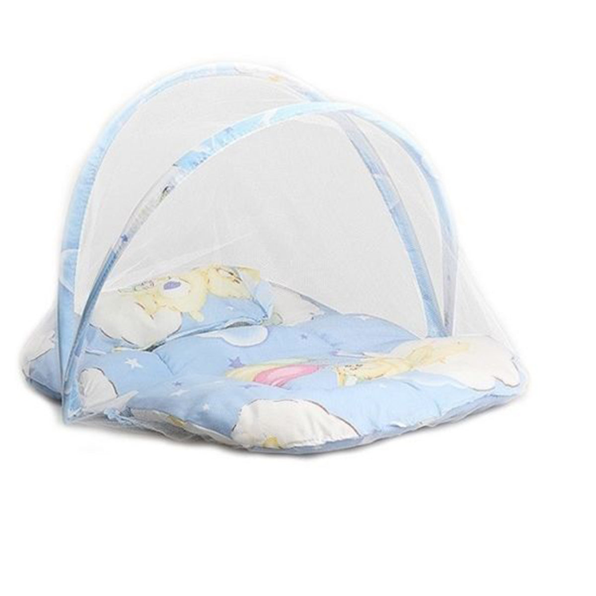 Foldable Infant Bed with Mosquito Net