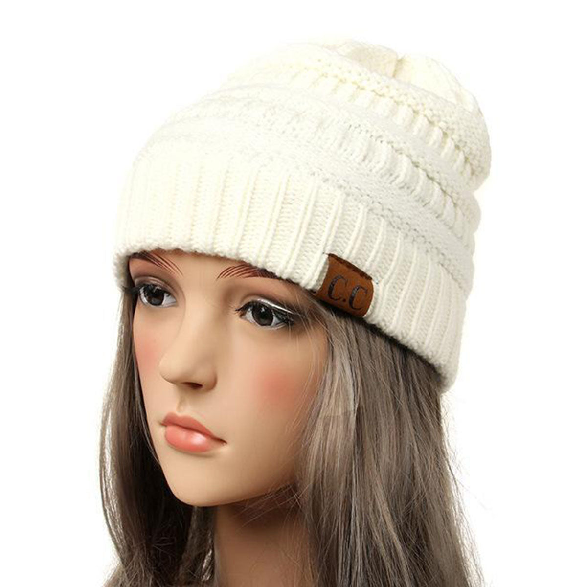 High Quality Knit Slouchy Beanie