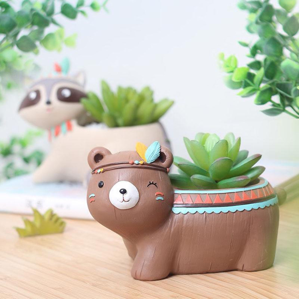 Creative Design Cute Animal Planters