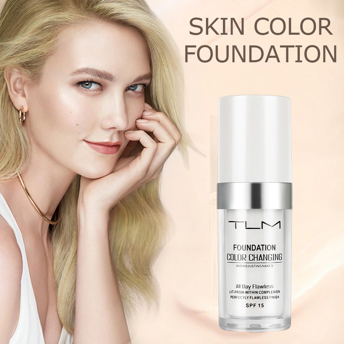 color adjusting foundation