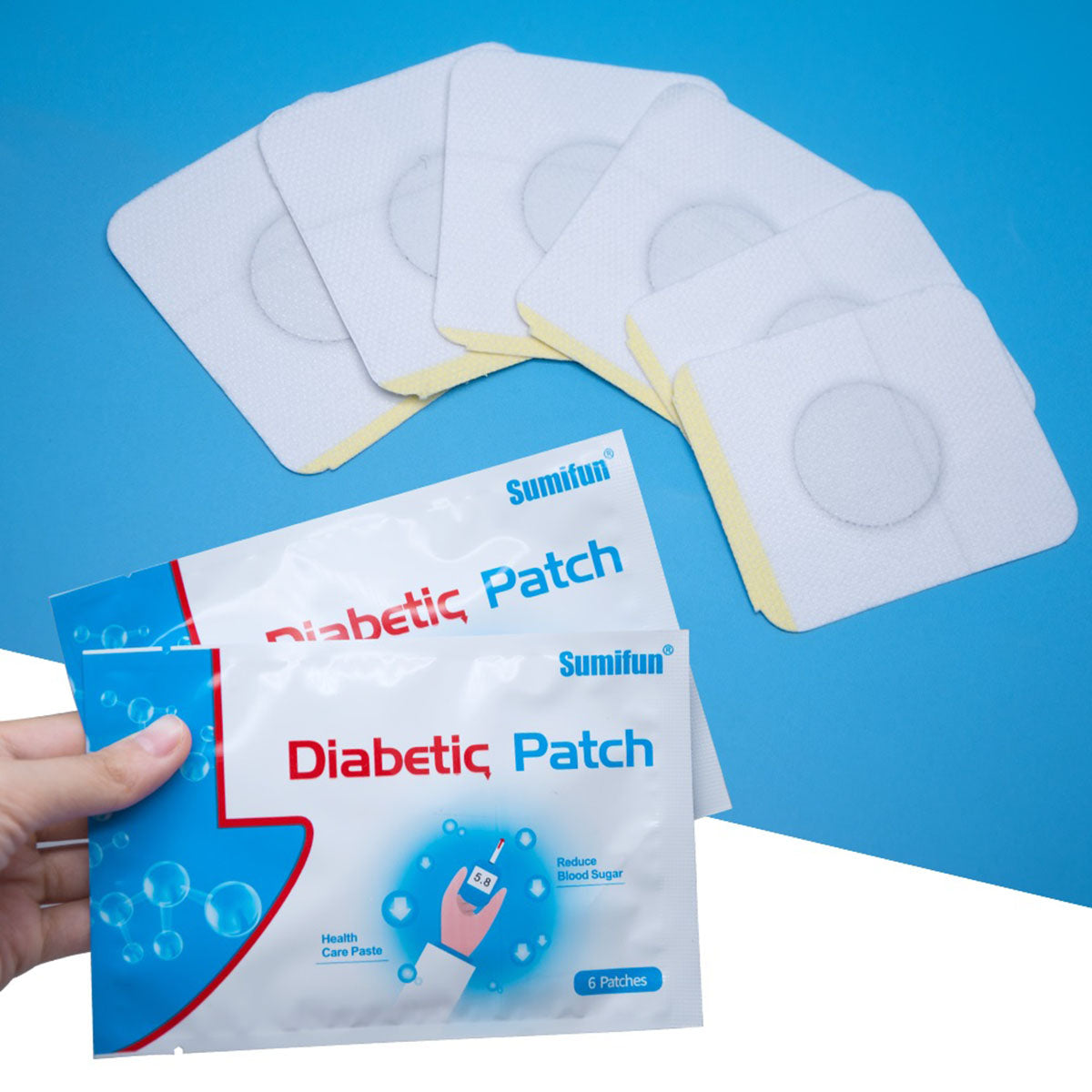 30 Pcs Herbal Diabetes Patch to Lower Blood Gluscose Level