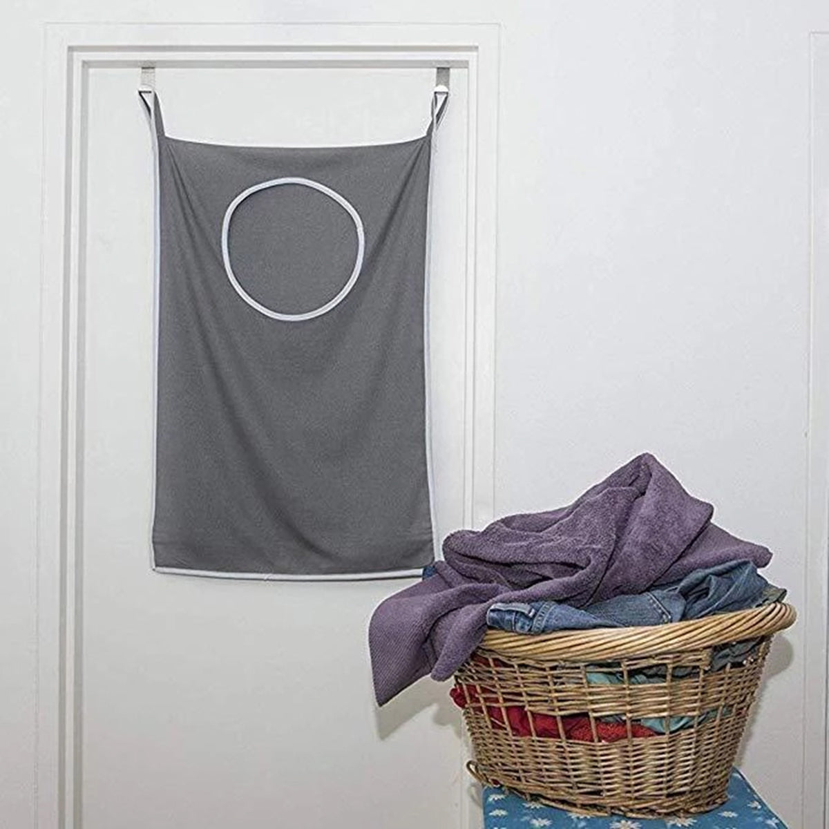 Large Capacity Hanging Laundry Bag