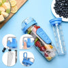 Plastic Fruit Infusion Water Bottle