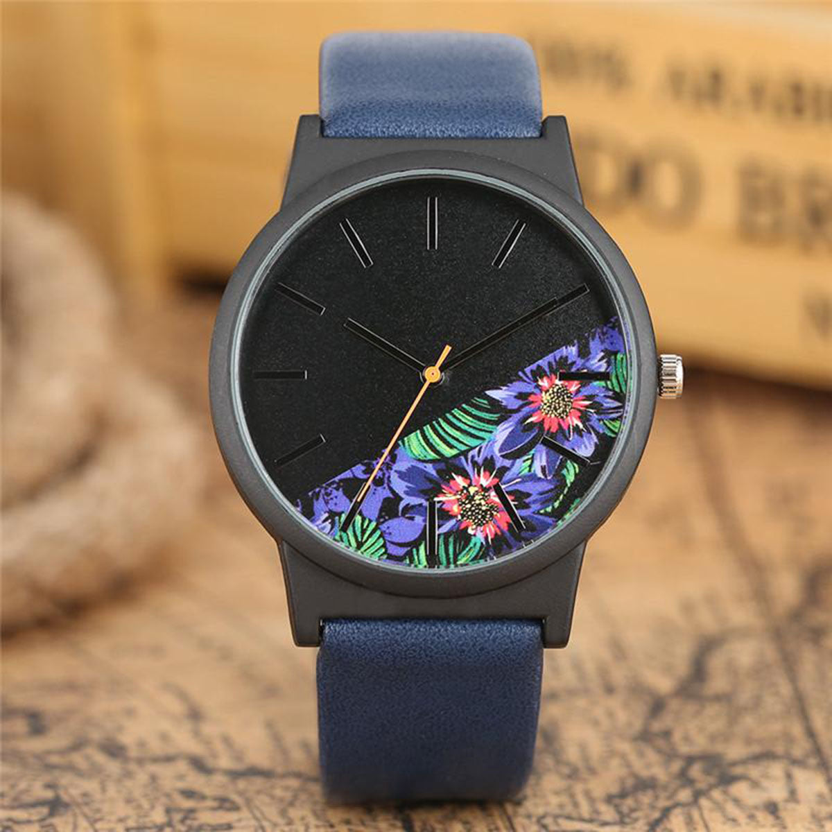 Luxury Top Brand Floral Watch for Women
