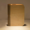 Usb Rechargeable Wooden Led Book Lamp