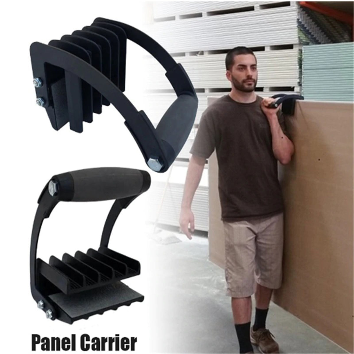 Furniture Accessory Panel Carrier Easy Lifting Gorilla Grip