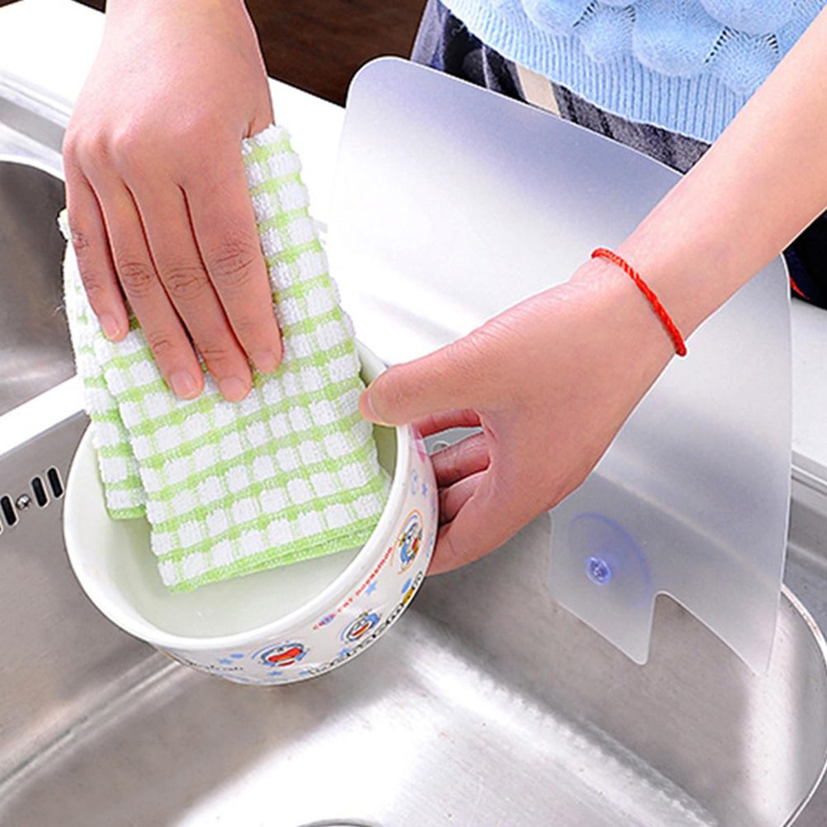 kitchen sink splash guard