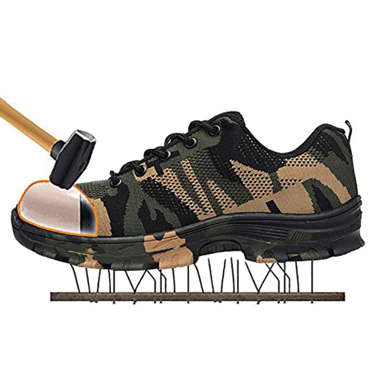 Indestructible Safety Hard Boot Nail Proof Shoes
