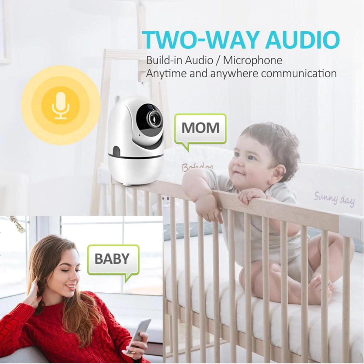hidden wifi camera with audio