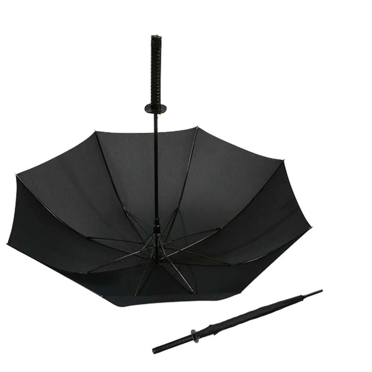 Windproof Ninja Sword Shape Samurai Umbrella