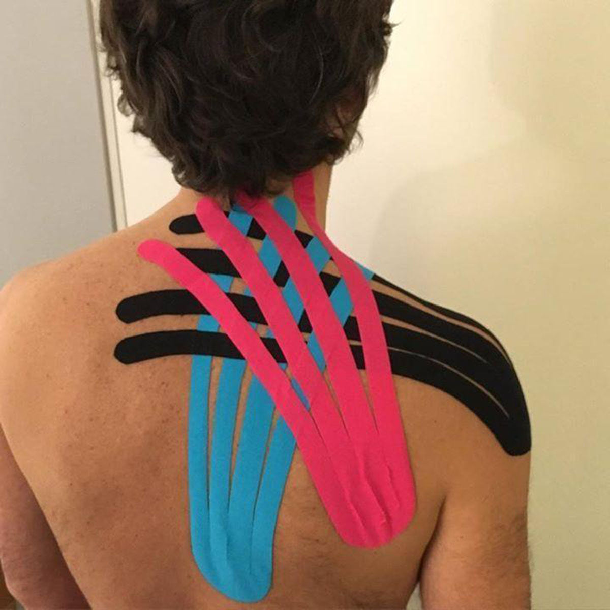 Athletic Strapping Kinesio Tape Shoulder
