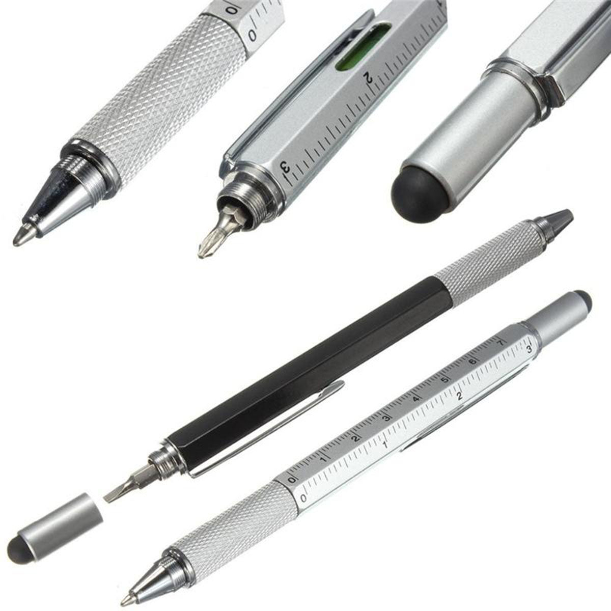 5 in 1 Multi-Functional Tool Pen