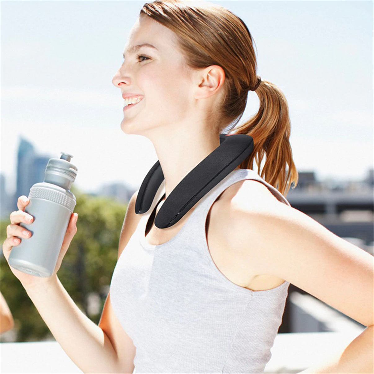 Wearable Neck Speakers for Sports & Outdoor