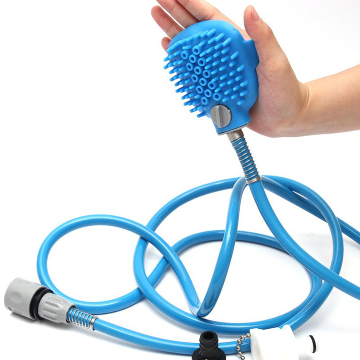 Portable Dog Shower with Comfortable Massager