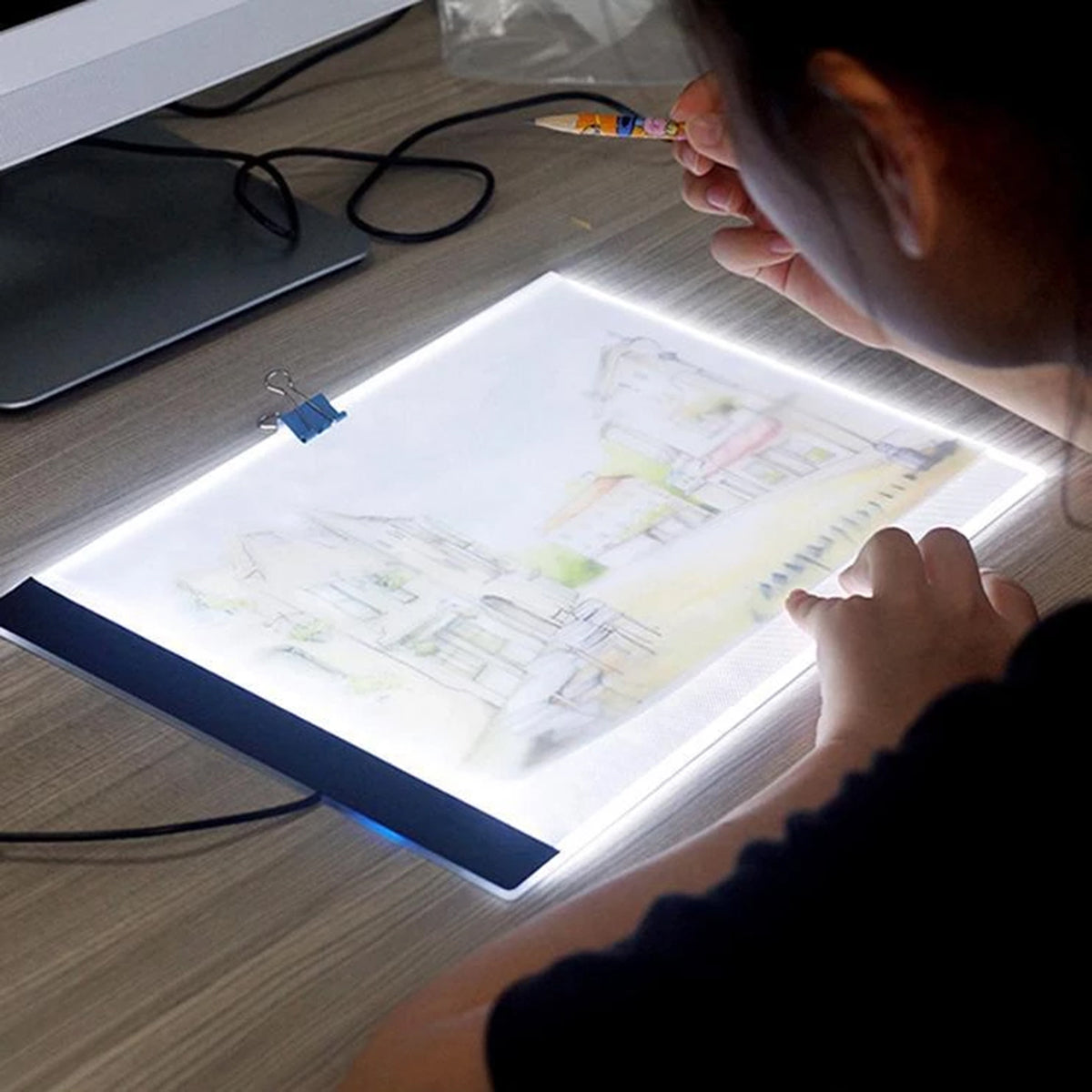 LED Lightbox Drawing Table