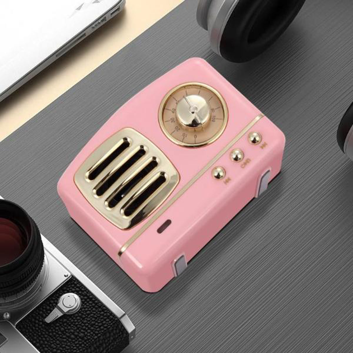 Retro Wireless Radio Bluetooth Speaker