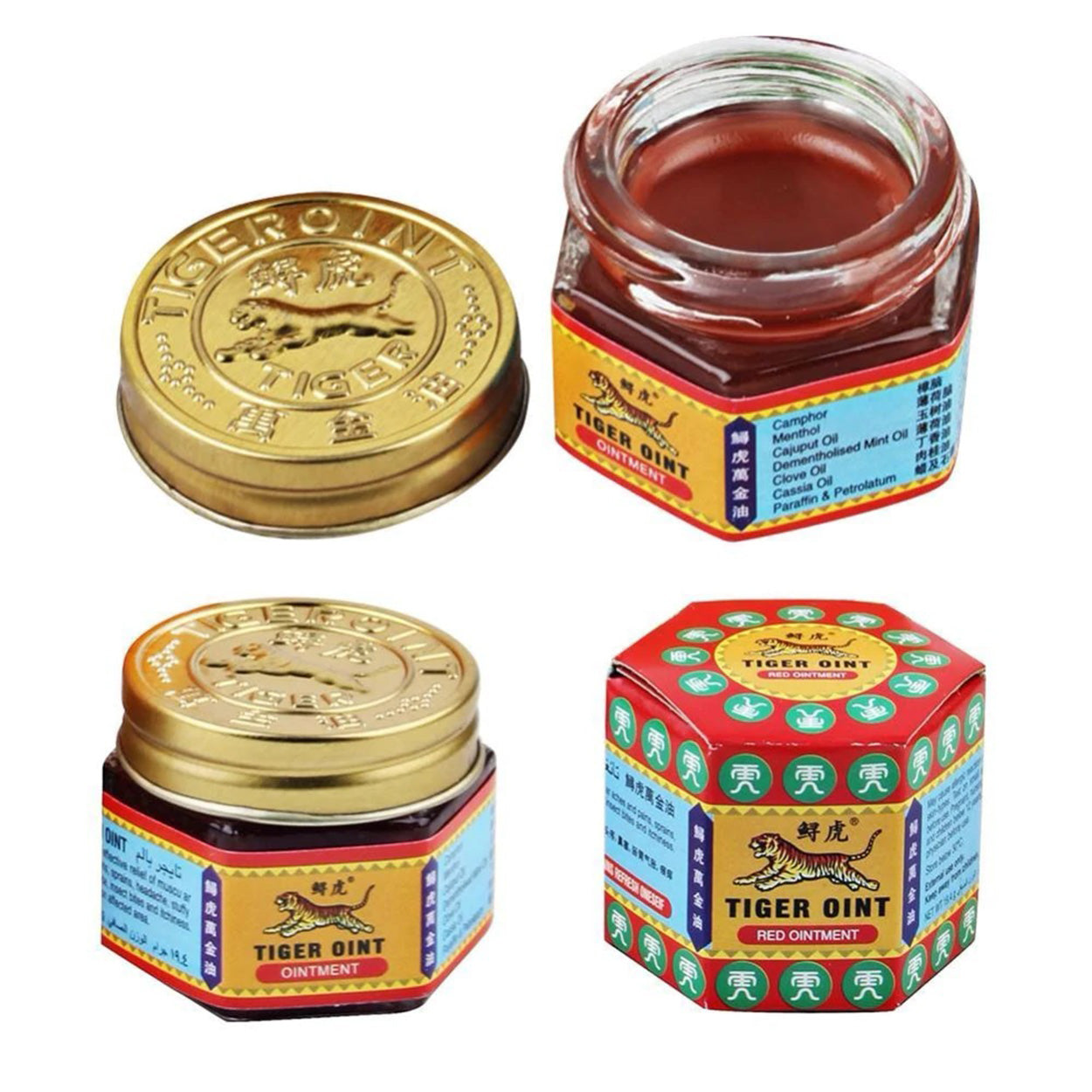 Pain Relief Body Massage Tiger Balm Ointment