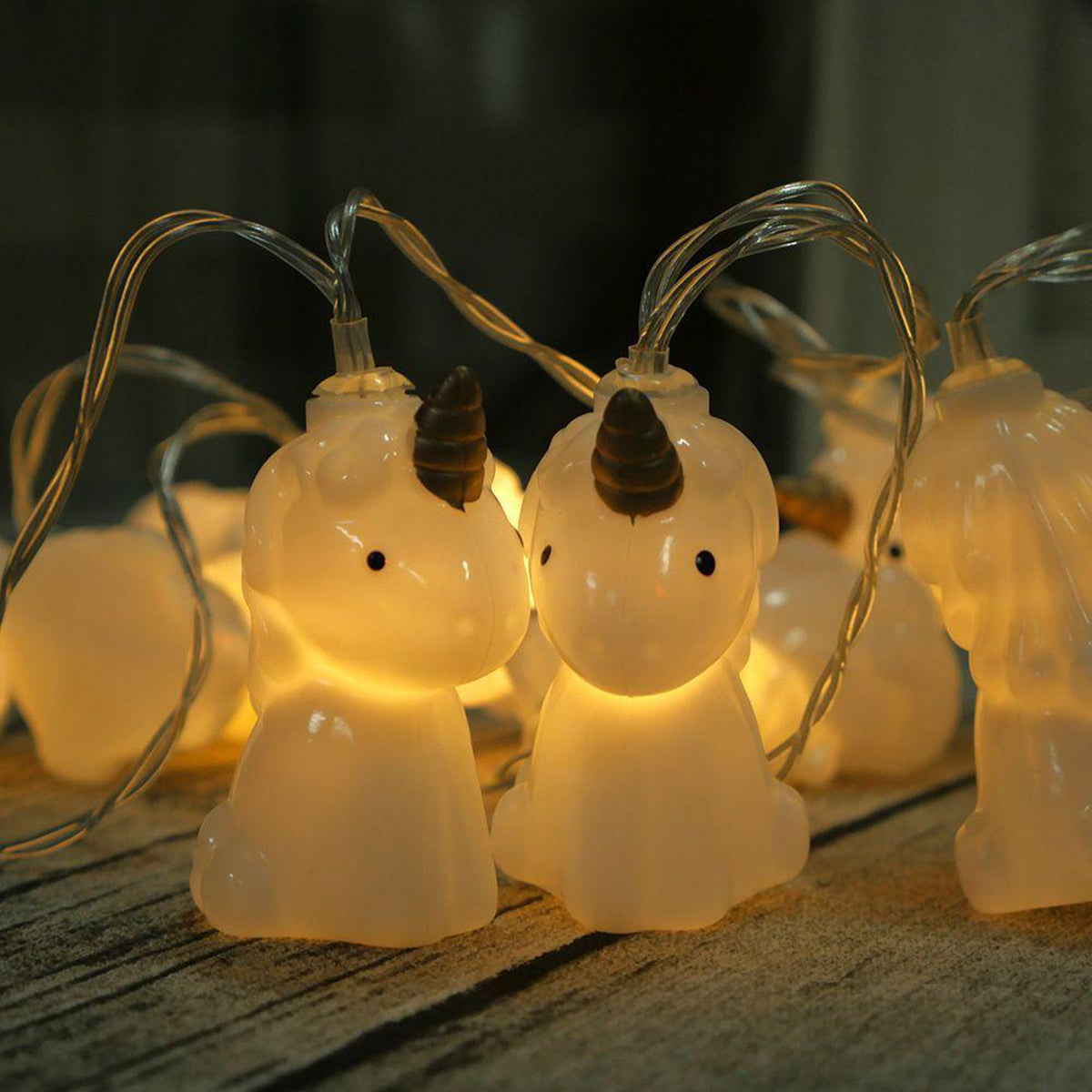 Led Battery Powered Unicorn String Lights