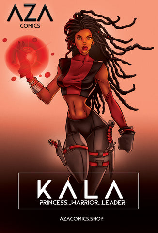 Kala Aza Comics Superhero