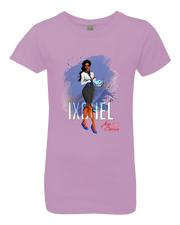 Aza Comics Ixchel Girls Princess Superhero Tee