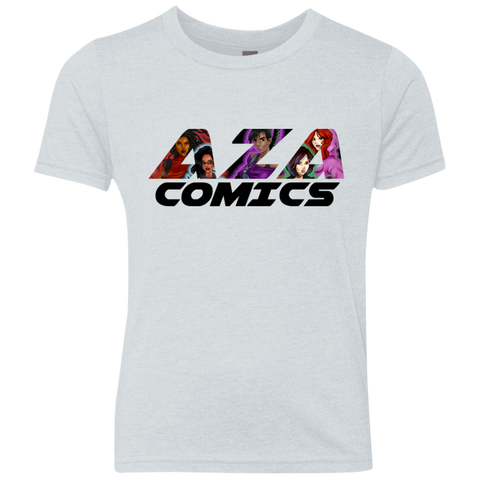 Aza Comics Unisex Youth Triblend Shirt