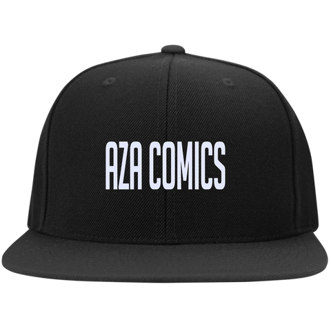 Aza Comics Black Snapback Hat