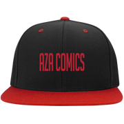 Aza Comics Black & Red Snapback Hat