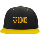 Aza Comics Gold Snapback Hat