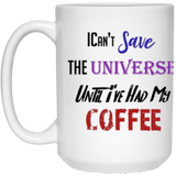 Aza Comics Save the Universe 15 oz. White Mug