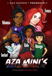 Aza Mini's Book Bundle