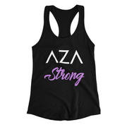 Aza Comics Aza Strong Superhero Racerback Exercise Tee