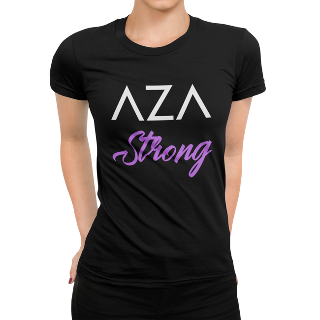Aza Comics Aza Strong Superhero Workout Tee
