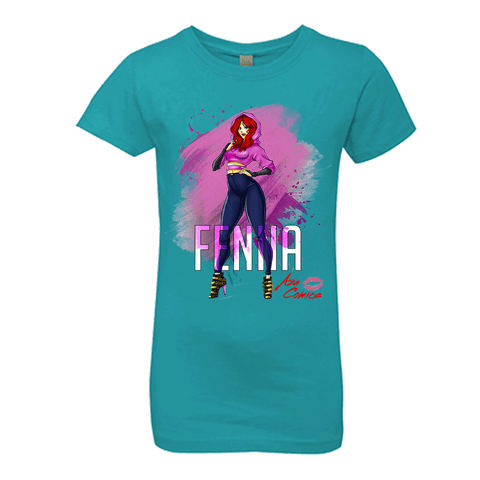 Aza Comics Fenna Girls' Princess T-Shirt