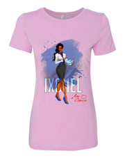 Aza Comics Ixchel Ladies Scoop-Neck Superhero Tee