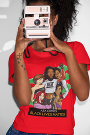 Aza Comics Ladies Black Lives Matter Tee