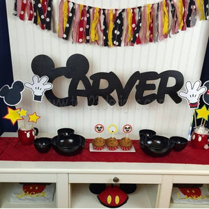 Disney Inspired Personalized Wooden Name