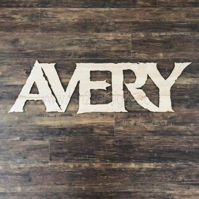 Disney FROZEN Inspired Personalized Wooden Name