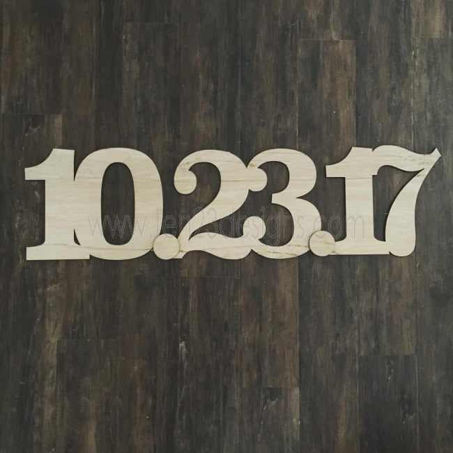 SAVE THE DATE wood sign