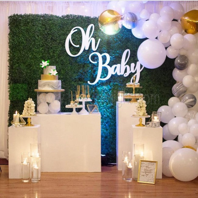 Wooden Oh Baby sign