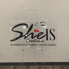 Acrylic Printed Logo Sign
