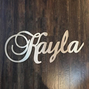 Personalized Wooden Name - Generation III