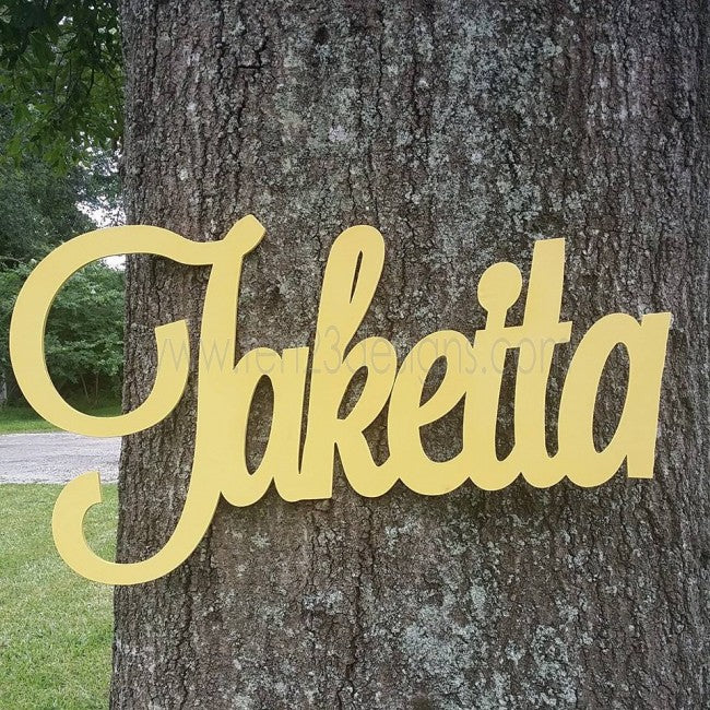 Personalized Wooden Name - Generation II