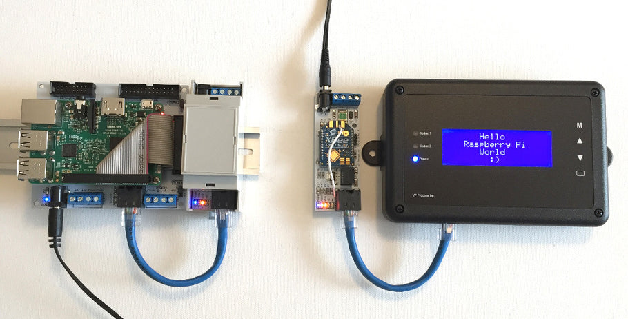 Raspberry Pi and Wireless RS485 Display
