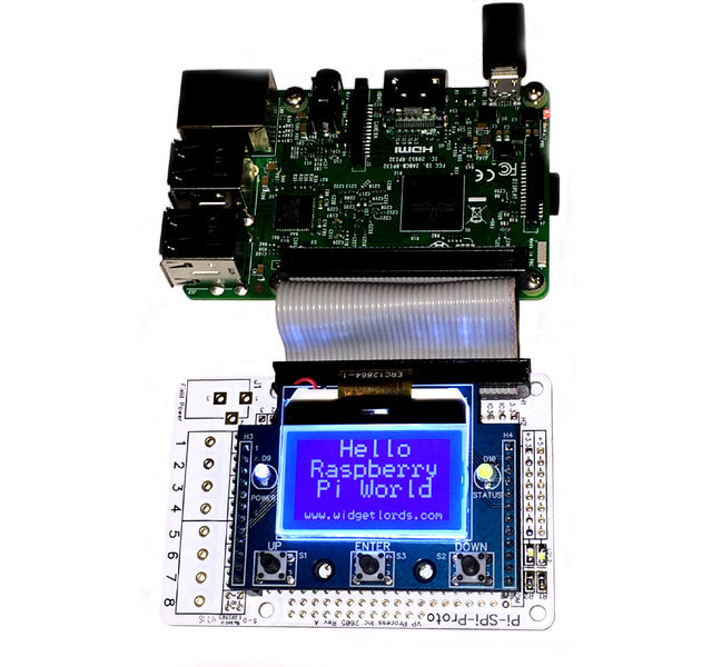 Raspberry Pi and Graphic Display Interfaces
